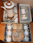 VINTAGE (1972) BUT NEW (NEVER OPENED) WEDGWOOD / RUSSELL HOBBS COFFEE SET