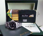 ROLEX -  40mm Stainless Steel SeaDweller Black Index Dial  - 16660 SANT BLANC