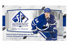 2016 17 Upper Deck SP Authentic Hockey Hobby Box Factory Sealed