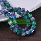 810mm Charm Glass Czech Square Cube Faceted Loose Spacer Beads Jewelry Findings