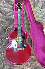 Gibson Starburst Flame Acoustic Guitar with Gibson Case