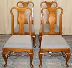 PENNSYLVANIA HOUSE DINING CHAIRS Oak Queen Anne Style Dining Chairs Set of 4