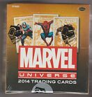 2014 MARVEL UNIVERSE FACTORY SEALED TRADING CARD HOBBY BOX RITTENHOUSE ARCHIVES