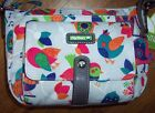 NWT Lily Bloom FEATHER WEATHER BIRDS Christina Crossbody Purse BIRDHOUSES Gray