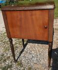 1940 Singer Drop Down Sewing Machine Cabinet/Stand/Table Fits 66/Others Walnut