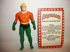 80s Vintage Action Figure DC Super Powers Aquaman w Card
