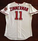 2009 Ryan Zimmerman Signed Game Used Worn Nats Jersey Home Run Photo Matched