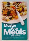 Weight Watchers books cookbook diet cooking Master Your Meals food recipes 2013