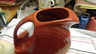 Fiesta LARGE DISC PITCHER 67 ozs 7 1 4 New Never Used Retired PAPRIKA