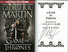 George RR Martin SIGNED Game of Thrones SC HBO FULL LETTER PSA DNA AUTOGRAPHED