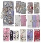 For iPhone 6 6S Leather Wallet Cute Cover Case Bling Glitter for Girls Women