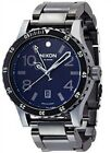 Nixon The Diplomat Black Dial Stainless Steel Quartz Mens Watch A277-1885