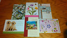 6 HAPPY BIRTHDAY CARDS WITH MATCHING ENVELOPES