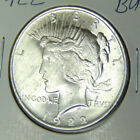 BU 1922 Peace Silver Dollar Uncirculated Philadelphia Mint Dollar 9417