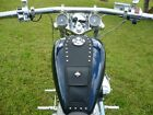 Honda Shadow VLX 600 VLX600 Tank Bib Bra POCKET+ STUDS + YOU CHOOSE EMBLEM