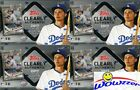 (4) 2017 Topps Clearly Authentic Baseball Factory Sealed HOBBY Box-4 AUTOGRAPHS