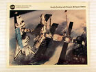 SHUTTLE DOCKING WITH RUSSIAN MIR SPACE STATION NASA 1994 Poster Print 8 X 10
