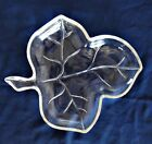 Hazel Atlas Glass Maple Leaf Dish