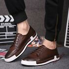 Retro Brogue Shoes Mens Sneakers Flats Lace Up Breath Fashion Board Shoes US 95