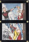 DC Comics Superman:The Legend Anthony Wheeler Dual Sketch Card