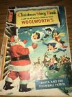1953 Woolworths Christmas Story Book catalog dolls cars trains pedal cars santa