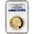 2014 W American Gold Buffalo Proof 1 oz 50 NGC PF69 UCAM Early Releases