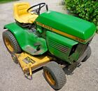 John Deere 212 Lawn Tractor with Accessories and Manuals