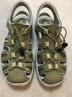 Womens Privo By Clarks Sport Sandals Green Water Athletic Sz 85