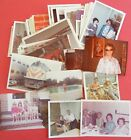 HUGE LOT of 100 Vintage SNAPSHOTS Photos OLD Color PHOTOGRAPHS c1960 1980 Orig