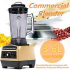 3.6LCommercial Blender Mixer Juicer Food Processing Smoothie Machine 220V 2200W