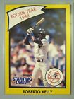 *Rare* 1990 Kenner Starting Lineup Cards #43B Roberto Kelly RY *Hard to Find*