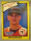 *Rare* 1990 Kenner Starting Lineup Extended Cards #6B Ben McDonald RC RY
