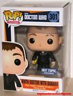FUNKO POP TELEVISION DOCTOR WHO NINTH DOCTOR 301 w BANANA HT EXCLUSIVE In Stock