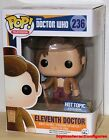 FUNKO POP TELEVISION DOCTOR WHO ELEVENTH DOCTOR 236 w Mop HT Exclusive IN STOCK