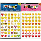 Mini Emoji Emotion Sticker Pack 48 Die Cut Stickers For Iphone Android Decor Hot
