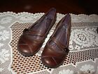 PRIVO by Clarks Paddie Womens Brown Leather Suede Mary Jane Flat 85M 75568 90