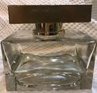 Vintage Large Display Factice Perfume Bottle 75 clear glass