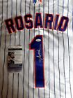 AMED ROSARIO AUTOGRAPHED SIGNED NEW YORK METS JERSEY W JSA COA