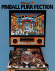 Bad Cats Pinball Machine Original Flyers Mint Condition Fifty Pieces
