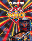 Doctor Who Pinball Machine Original Flyers Mint Condition Fifty Pieces