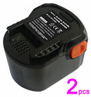 Double 2amp Battery for 12V AEG BSS 12 RW/AL9618/B1215R/B1220R Power Tools
