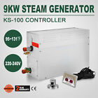 9KW Steam Generator Shower Sauna Bath Home Spa  KS 100 Controller Humidifier