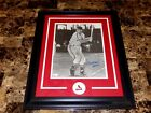Stan Musial Signed Framed Matted 19x23 Photo St Louis Cardinals Baseball JSA COA