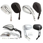 8 Styles MOTORCYCLE PARTS REAR VIEW CUSTOM SIDE MIRRORS FOR HARLEY MOTORBIKES