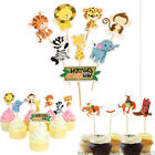 Animal Cowboy Birthday Cake Topper Candle Decoration Birthday Party Supplies