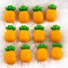 Lot 100Pcs Pineapple Resin Flatback Scrapbooking For DIY Phone Craft Christmas