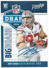 2016 Panini Prestige Football Cards - Print Runs Added for Draft Day Signatures 10