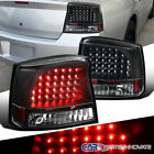 05-08 Dodge Charger Black LED Reverse Tail Lights Parking Rear Brake Lamps Pair