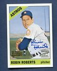 2001 Topps Team Topps Legends Robin Roberts Authentic Autograph