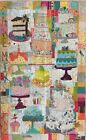 Cake Mix Collage Wall Hanging Quilt Pattern by Fiberworks